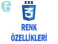 CSS Renk Stil Uygulamaları