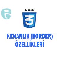 CSS Border Kenarlık Stil Özellikleri