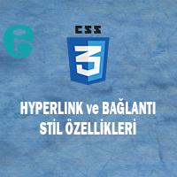CSS Hyperlink ve Bağlantı Stil Özellikleri
